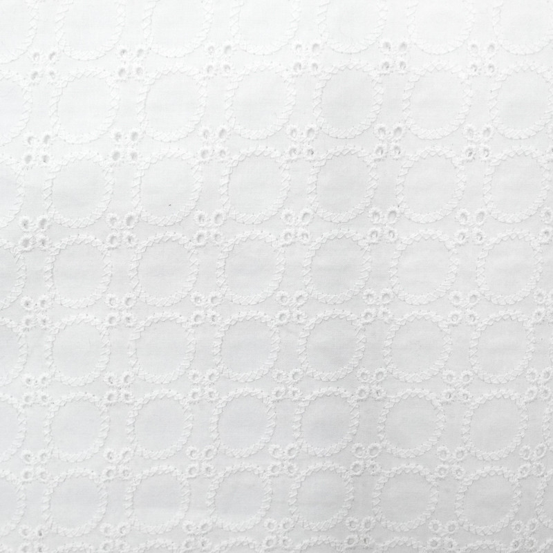 Broderie Anglaise blanc Victoria