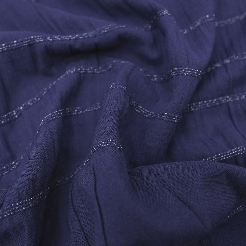 Gaze De Coton smocks bleu