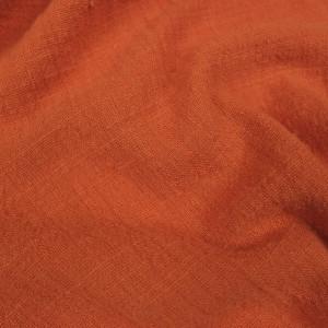 Gaze de coton texturée Terracotta