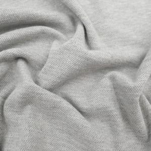 Maille piquée Polo gris