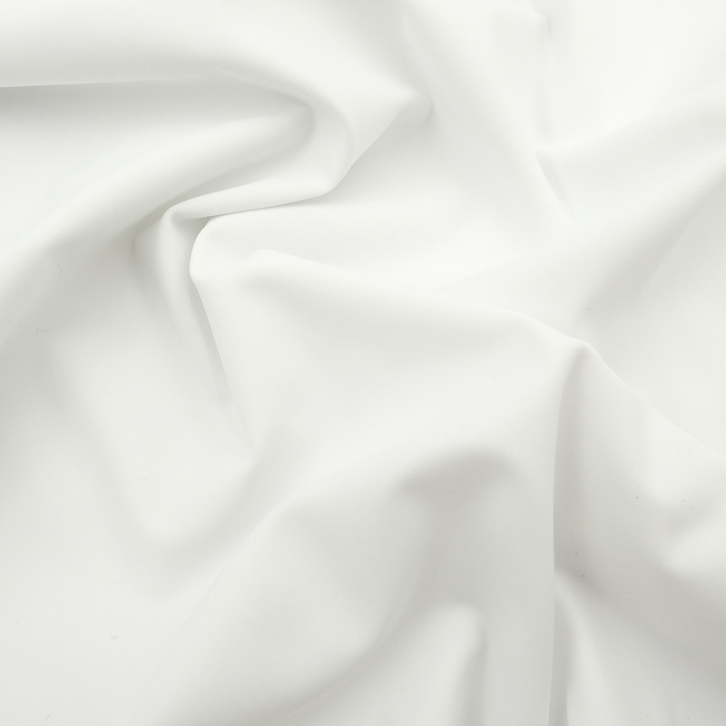 Lycra Mat Blanc optique