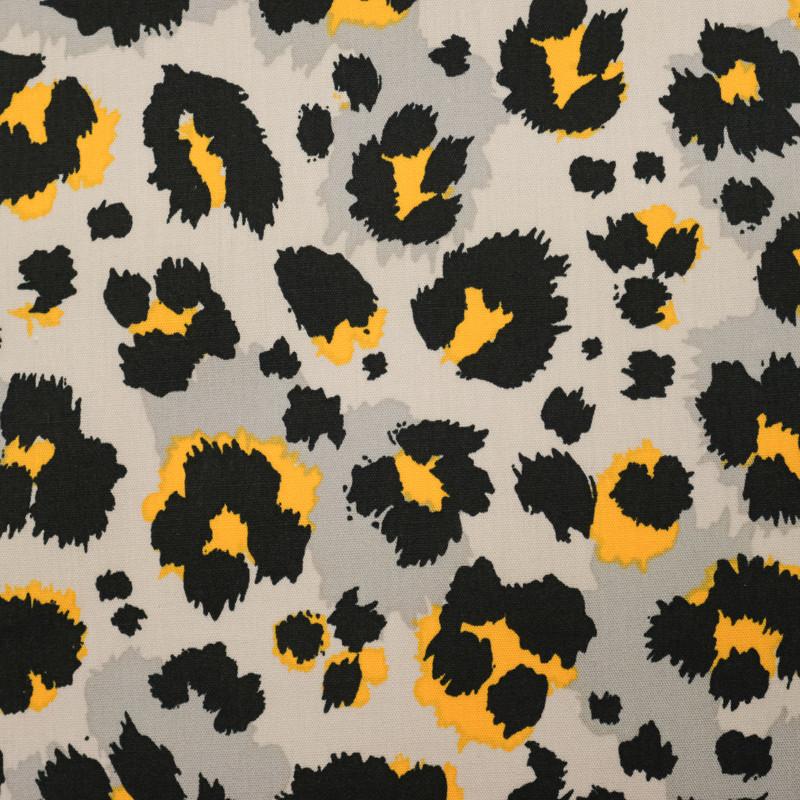 Tissu gris Kenya