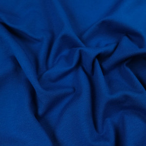 Jersey coton bleu royal Oekotex  Kate