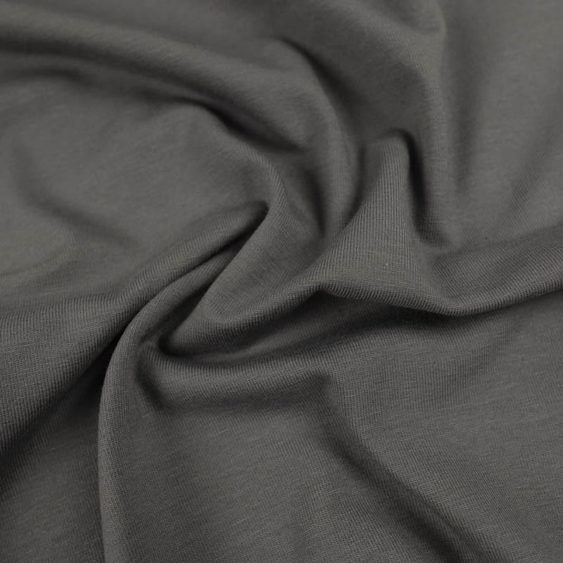 Jersey coton gris  Oekotex  Kate