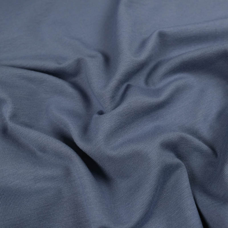 Jersey coton bleu Oekotex Kate