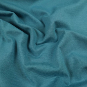 Jersey coton bleu provençal Oekotex Kate