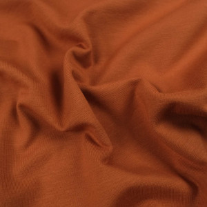 Jersey coton rouille Oekotex Kate