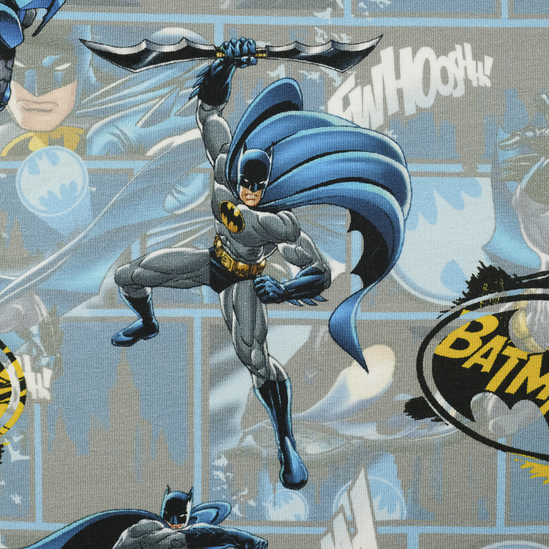 Jersey de coton Batman bleu