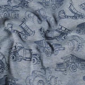 Sweat Envers Doudou bleu Monstertruck