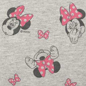 Tissu molleton French terry Minnie rose