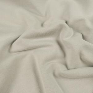 Jersey molleton gris- sweat fin bio