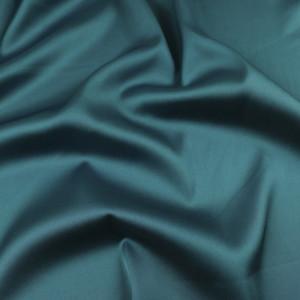 Tissu satin bleu vert léger Gala