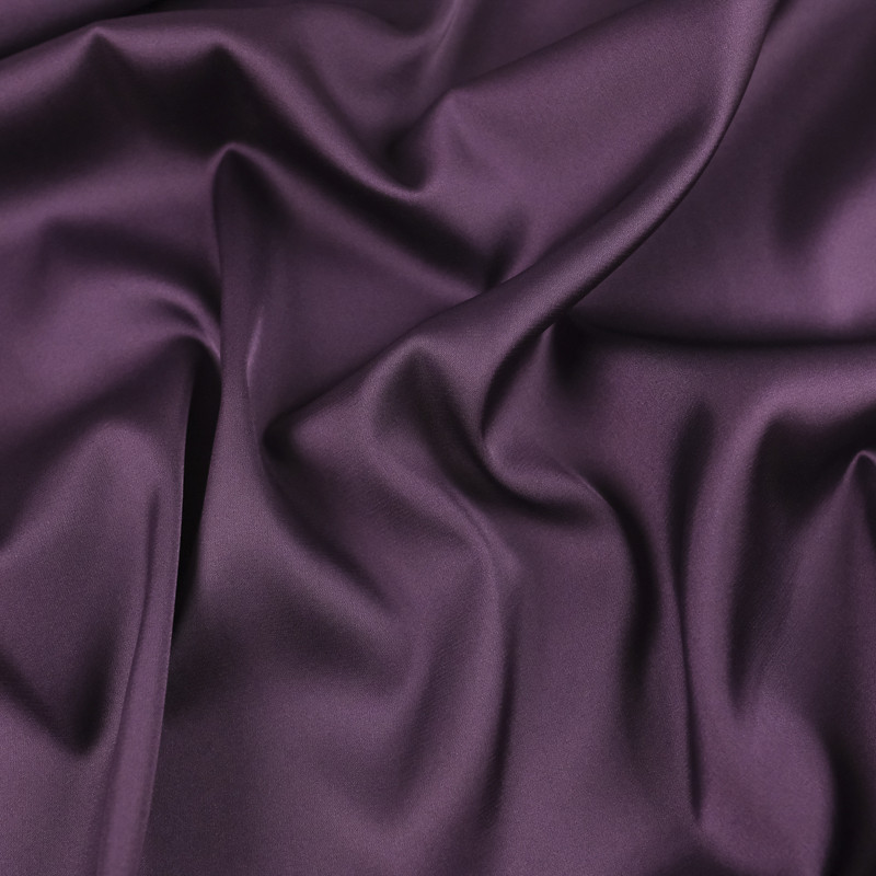 Tissu satin violet léger Gala