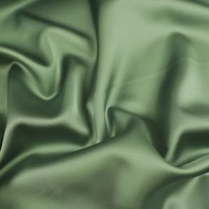 Tissu satin vert malachite Ciara