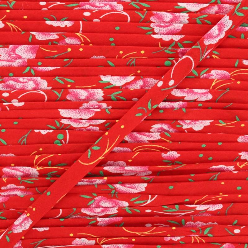 Biais Pivoine rouge- Petit Pan