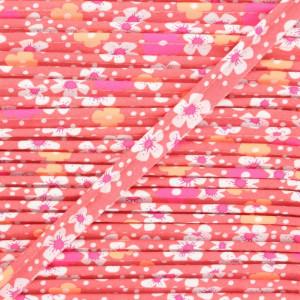 Passepoil  fleurs de iles rose- Petit Pan