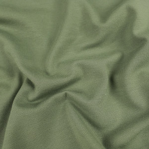 Jersey coton kaki Oekotex Kate