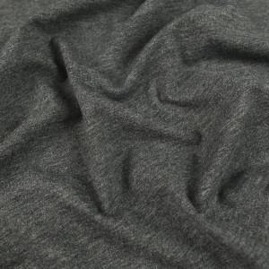 Jersey de coton Gris chiné