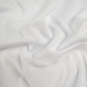 Jersey bambou coton blanc