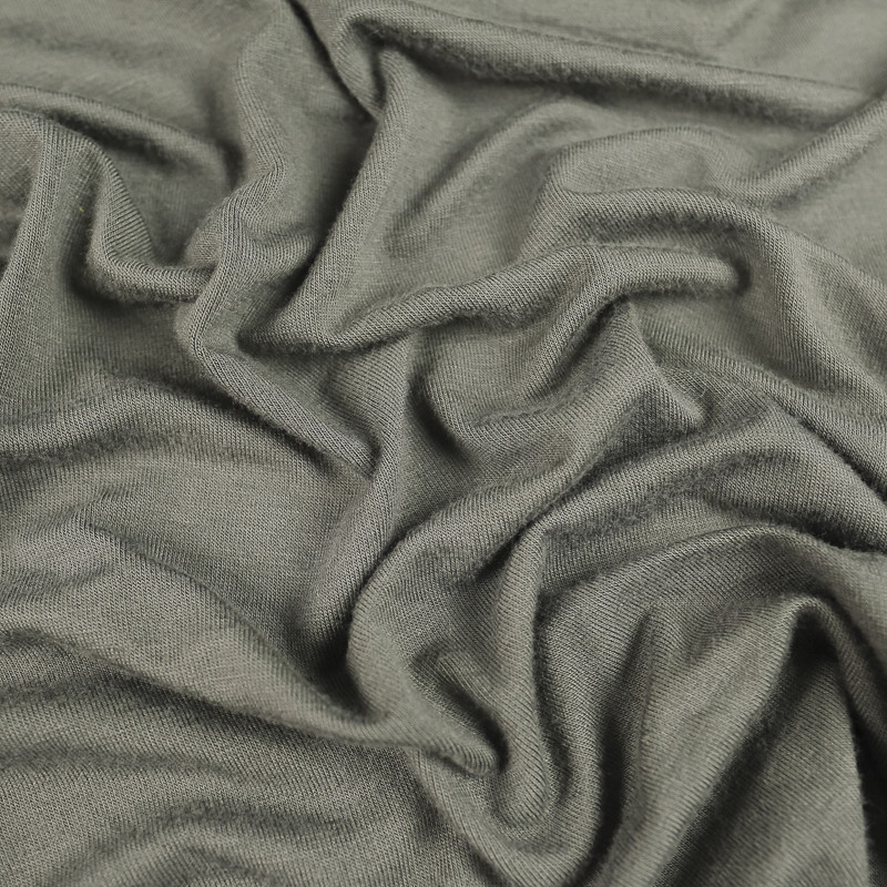 Jersey Bambou gris anthracite Oekotex®