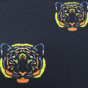 Jersey de coton  Lion Fluo
