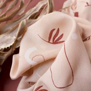 Atelier Brunette : tissu Viscose Sandstorm Blush -  Mercerine