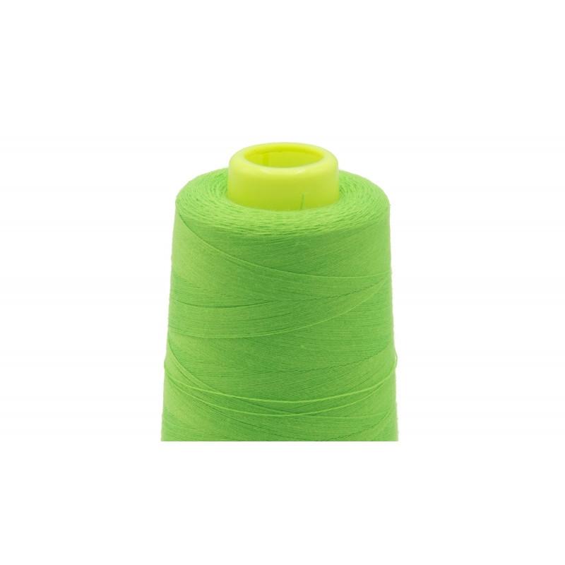 Achat mercerie : Fil Fluo Vert surjeteuse -  Mercerine