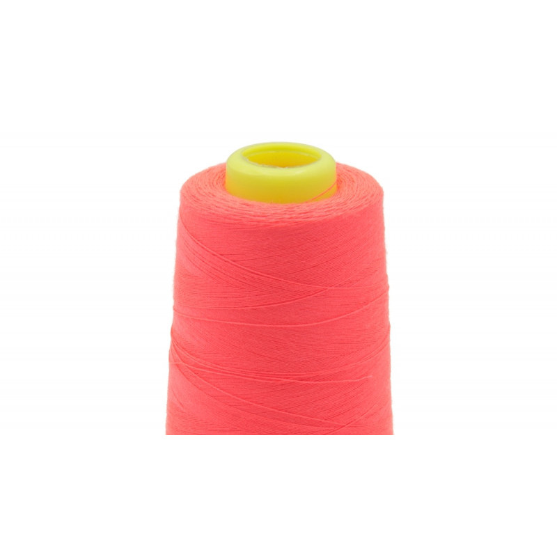 Cone à surjeter : Fil Fluo Rose surjeteuse -  Mercerine