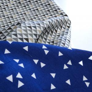 tissus à triangles