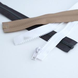 Fermeture pour blouson à glissière Plastique Séparable  - Mercerine