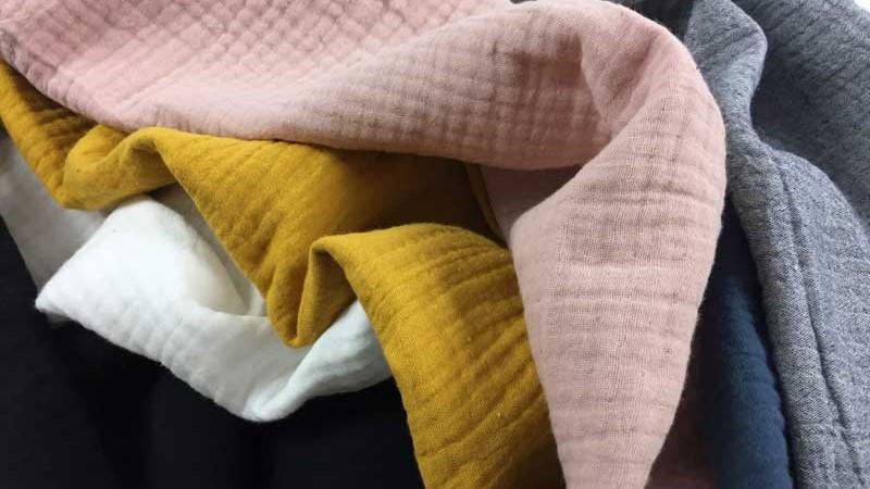 Tissus ultra doux et confortables